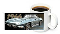 1966 Chevrolet Corvette Convertible Muscle Car Design 11oz. Ceramic Coffee Mug