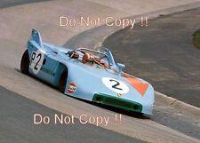 Jo Siffert Gulf Porsche 908/03 Nurburgring 1000 km de 1971 Photographie 1