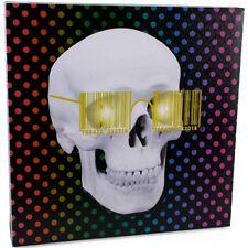 LED White Skull Plaque