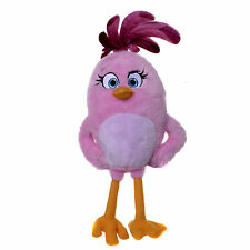 "OFFICIAL NEW 12"" PINK ANGRY BIRD FROM ANGRY BIRDS THE MOVIE PLUSH SOFT TOY"