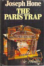 THE PARIS TRAP Joseph Hone 1977 1st hardback dustjacket Scarce Spy Thriller