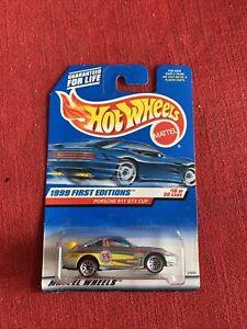 HOT WHEELS 1999 FIRST EDITIONS PORSCHE 911 GT3 CUP #912 NIB