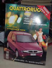 QUATTRORUOTE Dicembre 1995  Alfa Romeo 2.0 TS 16V Quadrifoglio Rover 414i 416 Si