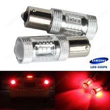 2x SAMSUNG LED 382 1156 BA15S P21W Bulbs Red Turn Signal Stop Brake Light 12V DC