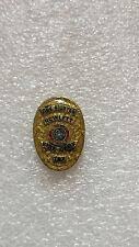 Vintage Pin Badge Fire Fighter Fire Dept Rowlett Texas US