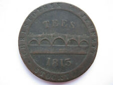 1813 Durham copper Penny Stockton on Tees GF
