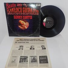 Sony Curtis Beatles Hits Flamenco Guitar Vinyl  LP Album Imperial Records 1964