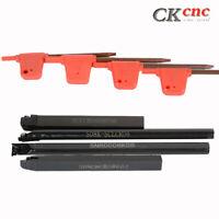 4PCS Set Of 08mm Lathe Turning Tool Holder Boring Bar CNC tools lathe cutting