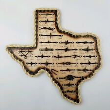 Large Antique Barbed Wire Display TEXAS 23 cuts of Authentic Barbwire