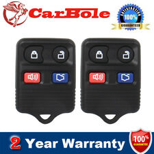 HOT! 2Pcs Brand New Replacement Car Auto Keyless Entry Remote Control Key Fob