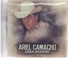 CD - Ariel Camacho Para Siempre Duetos Vol.1 (Sony Music) FAST SHIPPING !