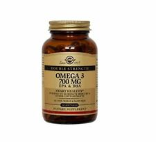 Solgar Double Strength Omega-3 Supplement 700 mg 60 Count