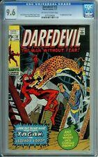DAREDEVIL 72 CGC 9.6 1st appearance of TAGAK Marvel Comics - 1971