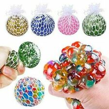 SQUISH A BALL-Squeeze Fun Tension Stress Release Ball Buster Novely Gift- ws