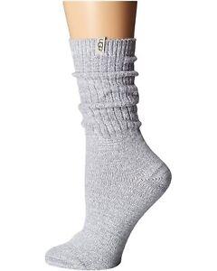 Women's Socks UGG RIB KNIT Slouchy Crew Socks 1014832 SEAL