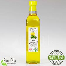 Safflower Oil, cold-pressed and crude, Olej Krokoszowy Ol'Vita 500ml