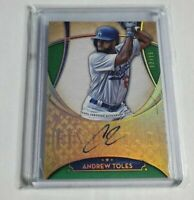 R33,462 - ANDREW TOLES - 2017 TOPPS FIVE STAR - AUTOGRAPH - GOLD - #12/15 -