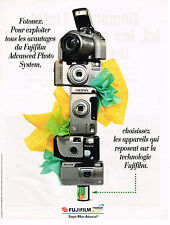 PUBLICITE ADVERTISING 104  1996  FUJIFILM  appareils photo caméras