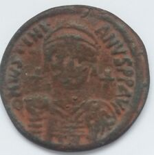 1755. Justinian I Follis = 40 Nummi Byzantine Empire year XII (538-539)