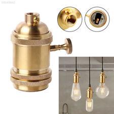 Vintage Retro Antique Style Edison E26/E27 Brass Lamp Light Bulb Keyed Holder