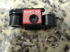 Vintage Micro 110 Mini Keychain Film Camera New Old Stock RARE Pristine SHAPE