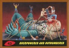 Mars Attacks The Revenge Bronze [25] Base Card #43 Overpowered and Outnumbered