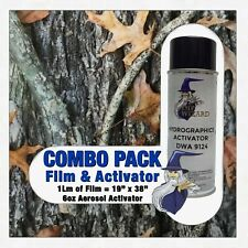 Hydrographic Film Activator Oak Leaves Camo Hydro Dip Dipping Wizard