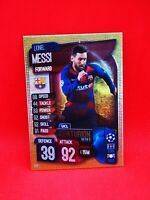 Carte card panini topps match attax 2019 2020 champions league CEN 1 MESSI