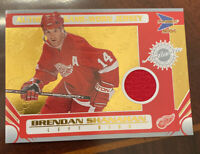 Brendan Shanahan Detroit Red Wings Lot. Game Worn Jersey Patch Card. 21 Cards
