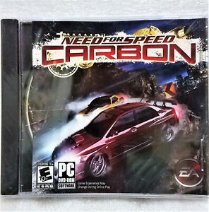 Need For Speed Carbon DVD ROM PC Video Game Sealed!