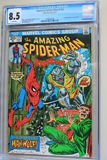 AMAZING SPIDER-MAN #124 CGC 8.5 1st Appearance of Man-Wolf