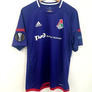 Lokomotiv Moskow match worn Shirt Jersey Maglia Camiseta