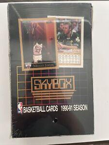 1990-91 Skybox Basketball Box Series 1 Michael Jordan Factory Sealed 🔥📈