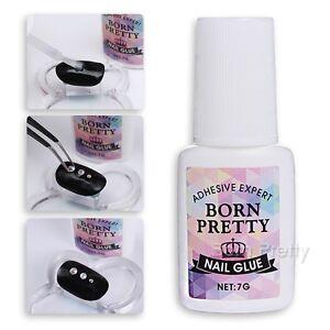 Born Pretty Nail Art Glue 7g Adhesive Decoration Fast-dry for UV/LED Salon Tools