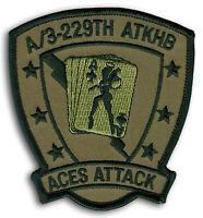 KNIGHTHAWKS USA-12 US ARMY 2nd BN 3rd AVIATION REGIMENT PATCH