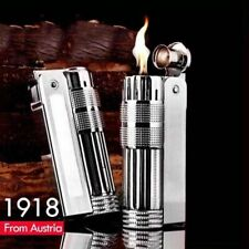 Vintage IMCO 6700 Stainless Steel Old Style Gasoline Cigarette Oil Lighter