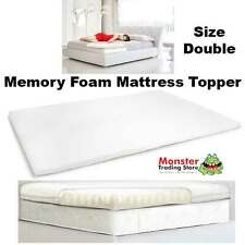 ROYAL COMFORT MEMORY FOAM MATTRESS TOPPER - SIZE DOUBLE