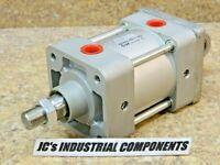 "SMC     3-1/4""  bore  X  1""  stroke    pneumatic cylinder     NCA1C325-0100"