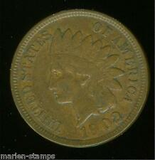 UNITED STATES 1902 INDIAN  CENT  AS SHOWN  HAVE FUN YOU DO THE GRADING