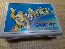 Super Game Boy Donkey Kong Nintendo  Cartridge Box Carry Case