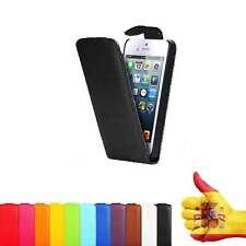 FUNDA CARCASA PROTECTOR PIEL PARA IPHONE 4 4S Elige tu Color