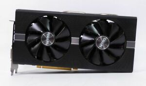 Gebraucht: AMD Sapphire RX 580 Nitro + 8GB GDDR5 Grafikkarte