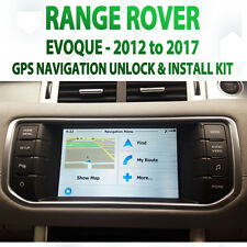 Range Rover Evoque OEM Gps Navigation unlock latest GPS Map upgrade Kit Sat Nav