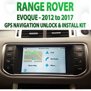 Range Rover Evoque 2012 - 2016 GPS Navigation retrofit Kit