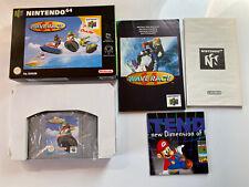Wave Race Nintendo N64 Boxed With Manual VGC CIB