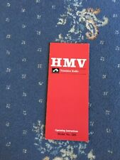 Hmv Radio Instructions 2181