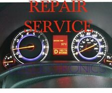 INFINITI G35 G37 INSTRUMENT CLUSTER REPAIR SERVICE 2008 TO 2012