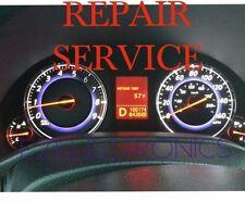 INFINITI G35 G37 INSTRUMENT CLUSTER REPAIR SERVICE 2008 TO 2012
