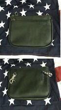 Bauchtasche Tasche Echtes Leder Mit Reißverschluss Zip Gürtel Biker Custom