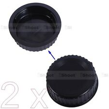 2x New Rear Cap Cover Protector - Installation Point fr Nikon DX FX F Mount Lens